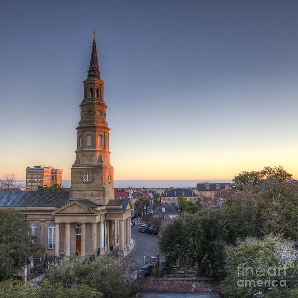 Photograph - St Phillips Church Charleston Sc by Dustin K Ryan