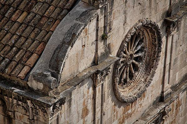 Photograph - St. Saviour Church Window by Stuart Litoff