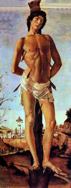 Botticelli Wall Art - Painting - St. Sebastian by Sandro Botticelli