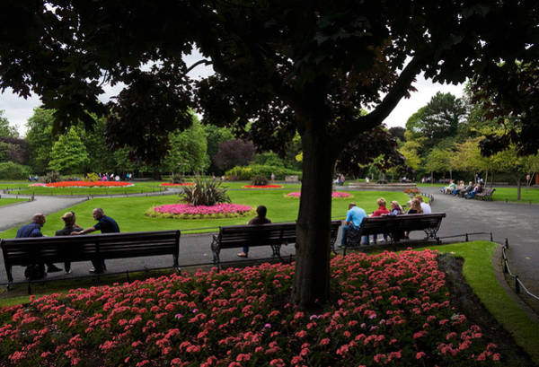 County Dublin Photograph - St Stephens Green Park, Dublin City by Panoramic Images