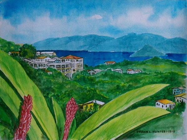St. Thomas Virgin Islands Art Print