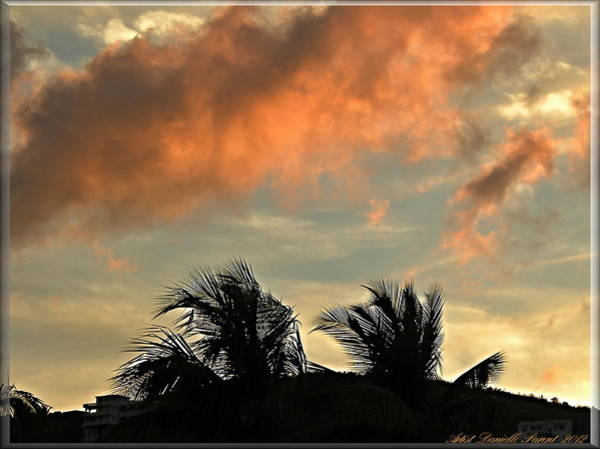 Photograph - St-thomas Virgine Island Sunset 2 by Danielle  Parent