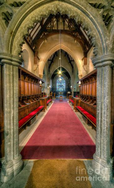 Wall Art - Photograph - St Twrog Church by Adrian Evans