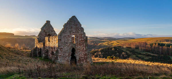 Photograph - Stable Ruins In Scotland by Brian Grzelewski