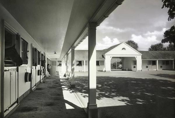 Natural Light Photograph - Stables Built By Alfred Hopkins by Tom Leonard