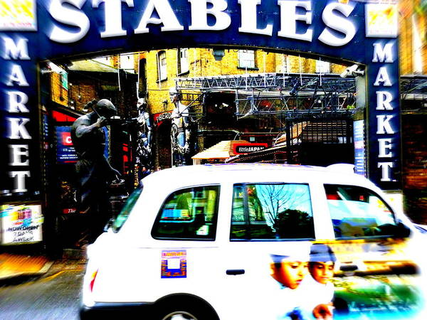 Wall Art - Photograph - Stables Market Camden Town by Funkpix Photo Hunter