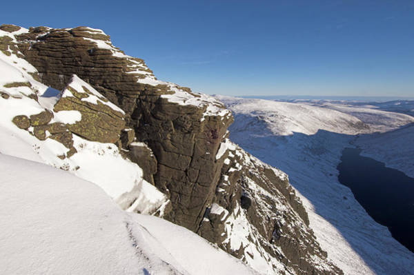 Cairngorms Photograph - Stac An Fharaidh by Duncan Shaw/science Photo Library