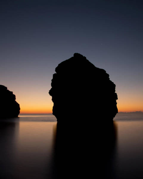 Photograph - Stacks At Dawn In Ladram Bay by Pete Hemington