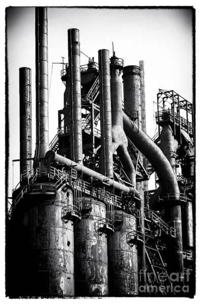 Photograph - Stacks by John Rizzuto