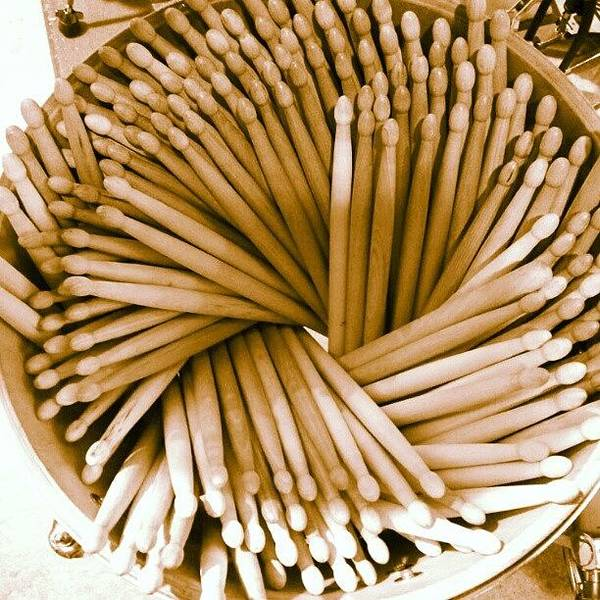 Shop Wall Art - Photograph - Stacks Of Sticks by The Drum Shop