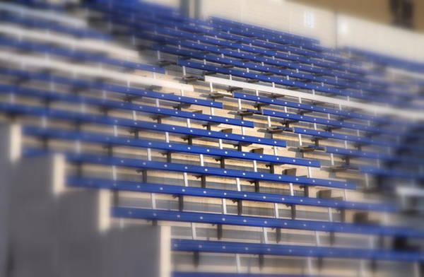 Wall Art - Photograph - Stadium Stalls by Valentino Visentini
