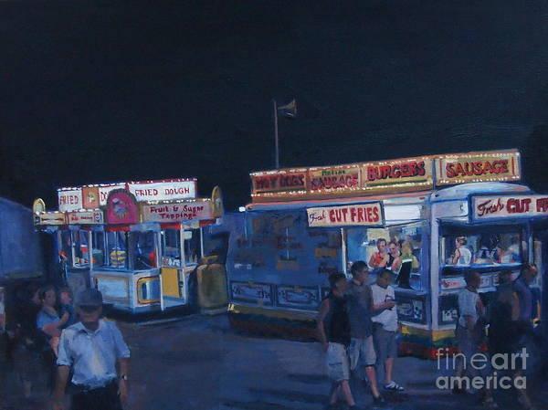 Stafford Night Art Print