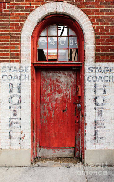 Wall Art - Photograph - Stage Coach Hotel by Charles Dobbs