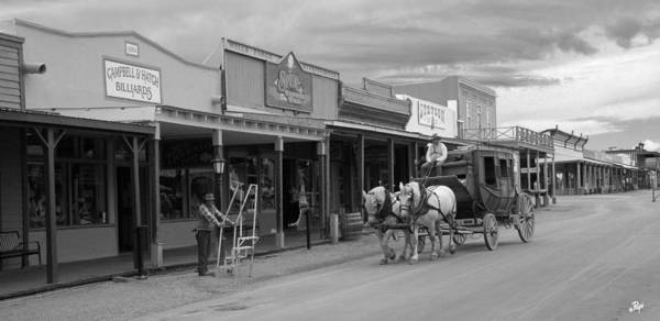 Tombstone Arizona Photograph - Stage From Tubac by Paul Anderson