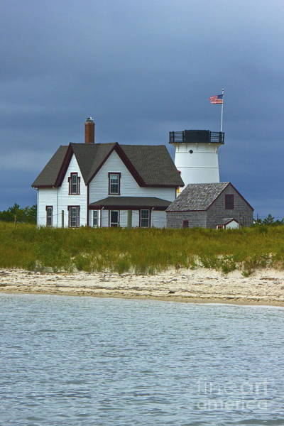 Photograph - Stage Harbor Light by Amazing Jules
