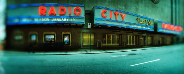 Radio City Music Hall Photograph - Stage Theater At The Roadside, Radio by Panoramic Images