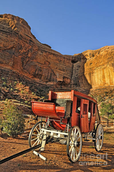 Photograph - Stagecoach by Brenda Kean