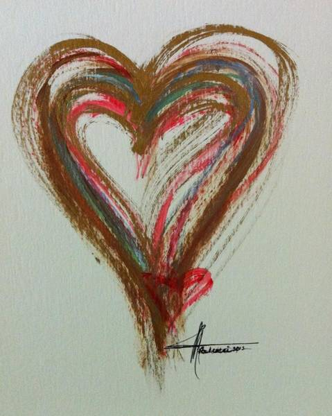 Painting - Stages Of Love by Marian Palucci-Lonzetta