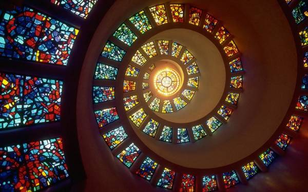 Stained Glass Digital Art - Stained Glass by Gianfranco Weiss