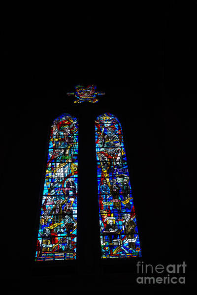 Grace Cathedral Photograph - Stained Glass At Grace Cathedral by David Bearden