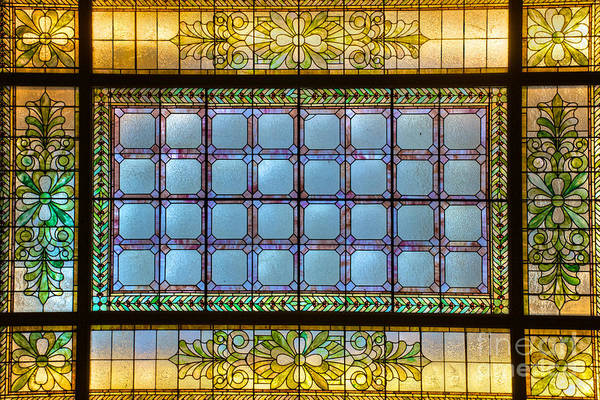 Photograph - Stained Glass At Md State House by Mark Dodd