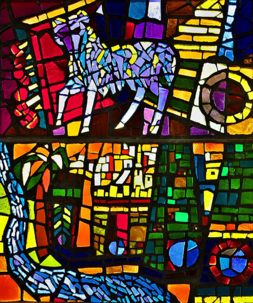 Photograph - Stained Glass Castle Seggau  by Ivan Slosar