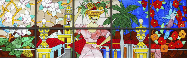 Photograph - Stained Glass Cuba Image Art by Jo Ann Tomaselli