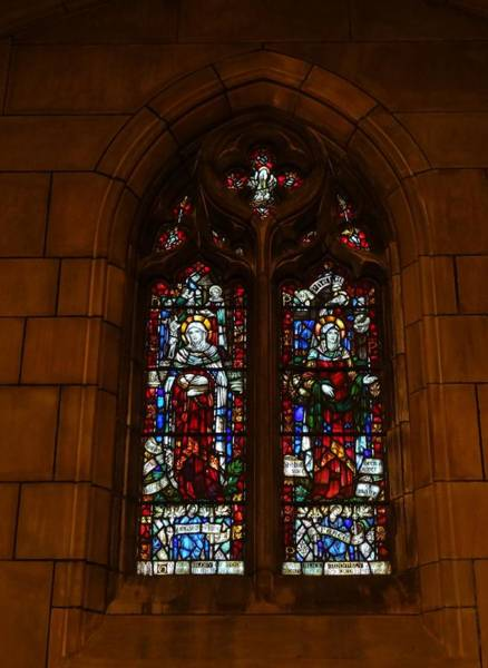 Wall Art - Photograph - Stained Glass In New York City by Dan Sproul