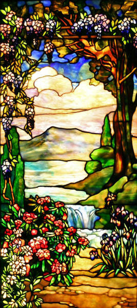 Wall Art - Photograph - Stained Glass No Border by Kristin Elmquist