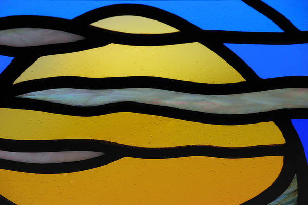 Comtemporary Photograph - Stained Glass Scenery 3 by Wendy Wilton