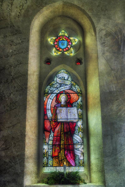 Photograph - Stained Glass Window Art by Ian Mitchell