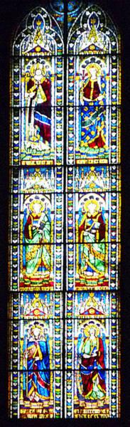 Photograph - Stained Glass Window Of Duomo Santa Maria Del Fiore by Irina Sztukowski