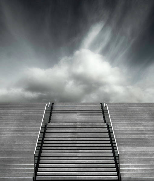 Wall Art - Photograph - Stair by Gilbert Claes