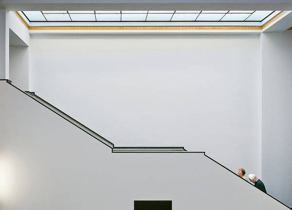 Museum Photograph - Stair-up by Henk Van Maastricht