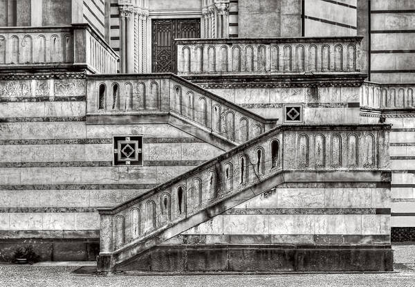 Photograph - Staircase And Stripes by Roberto Pagani