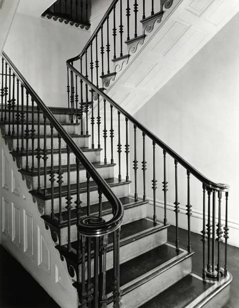 Chatham Photograph - Staircase In Owens-thomas House by William Grigsby