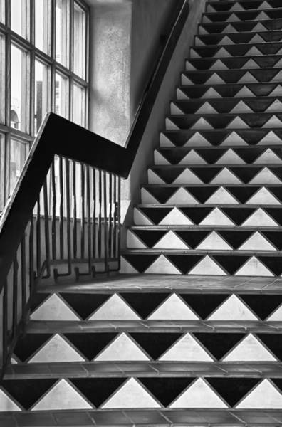 Photograph - Staircase Santa Fe New Mexico by Ron White