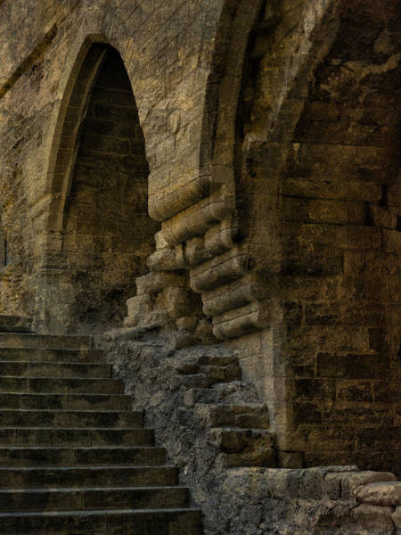 Photograph - Stairs And Arches by Bob Coates