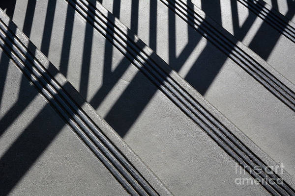 Wall Art - Photograph - Stairs And Rail by Dan Holm