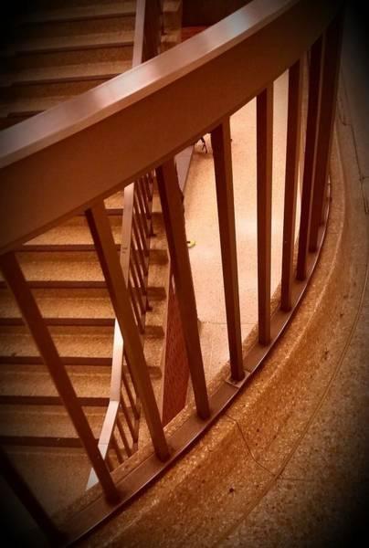 Harp Mixed Media - Stairs Around by Babatunde Kayode