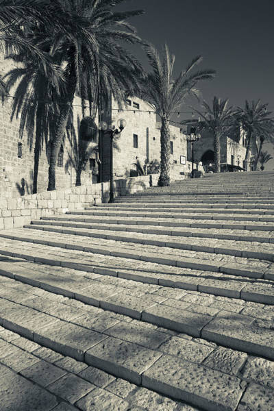 Jaffa Photograph - Stairs At Old Jaffa, Jaffa, Tel Aviv by Panoramic Images
