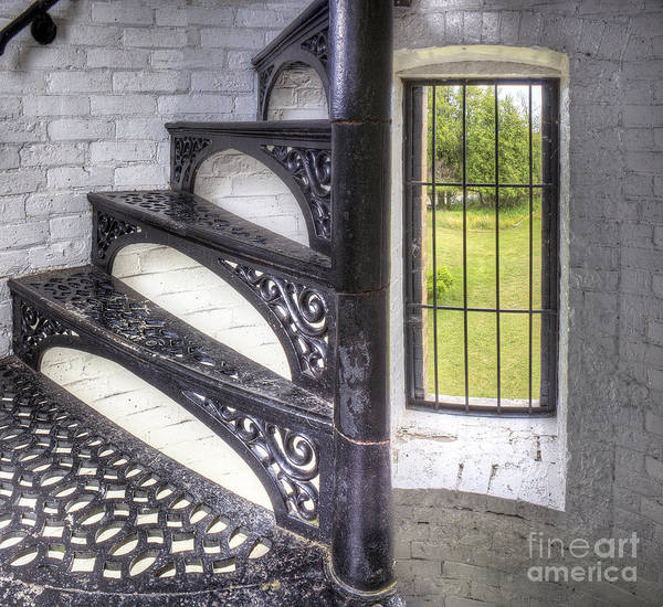Upper Peninsula Wall Art - Photograph - Stairs At Peninsula Point by Twenty Two North Photography