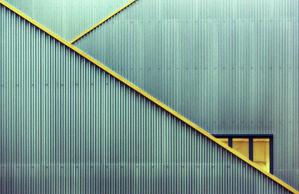 Stairs Art Print by Jan Niezen