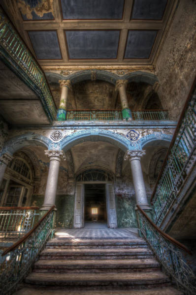 Grimy Wall Art - Digital Art - Stairs Of Beauty by Nathan Wright