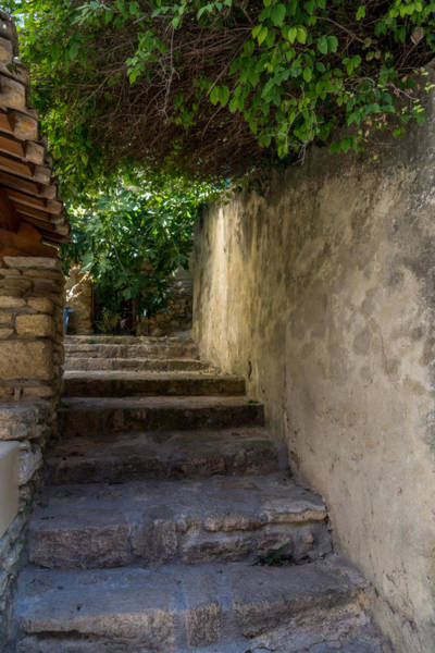 Chateauneuf Photograph - Stairs To Chateauneuf Du Pape by Anita Miller