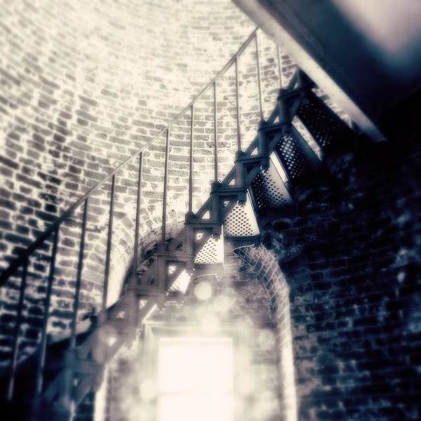 Beach Wall Art - Photograph - Stairs To The Top Of The Tower by Scott Pellegrin