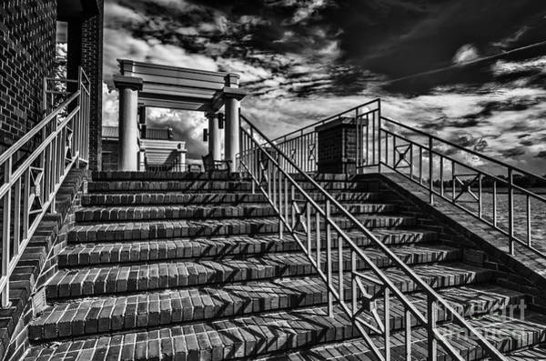 Photograph - Stairway At Montgomery Museum Of Fine Arts by Danny Hooks