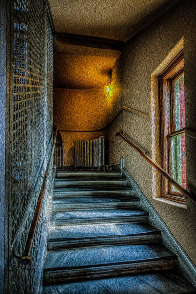 Photograph - Stairway by Dave Hahn