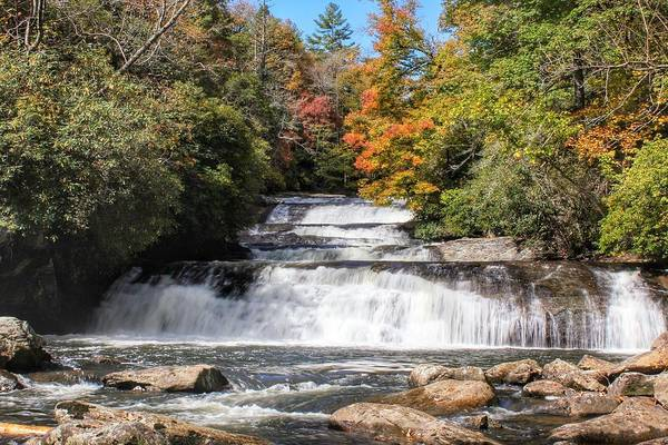 Photograph - Stairway Falls by Chris Berrier