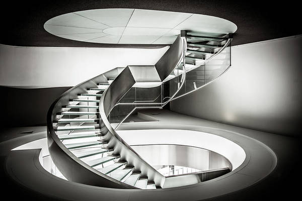 Glass Wall Art - Photograph - Stairway To Heaven by Ant?nio Bernardino Coelho